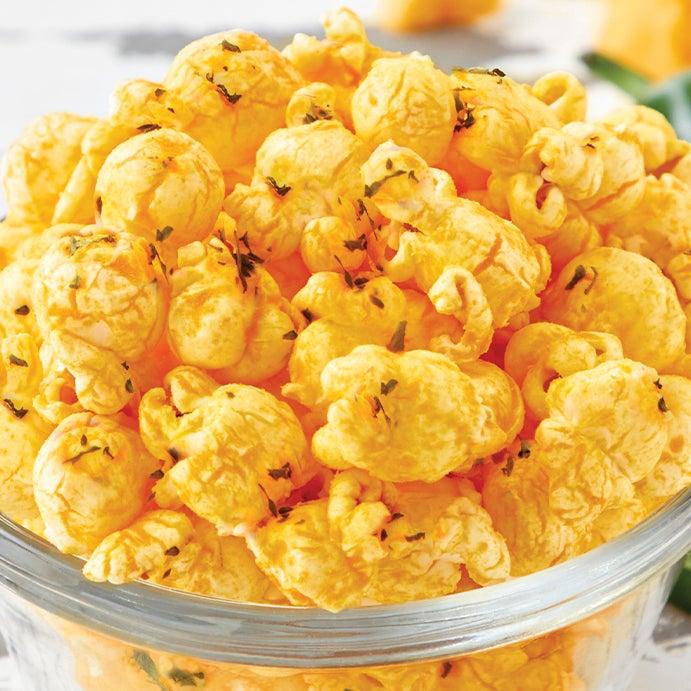 Cheezy Jalapeño Popcorn