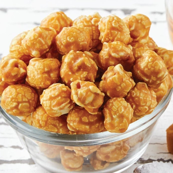 Salted Caramel Bourbon Popcorn