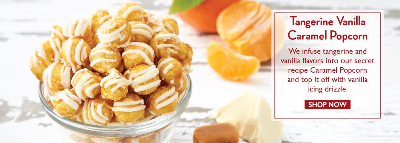 Tangerine Vanilla Popcorn