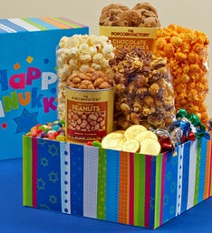 Hanukkah Popcorn Gifts